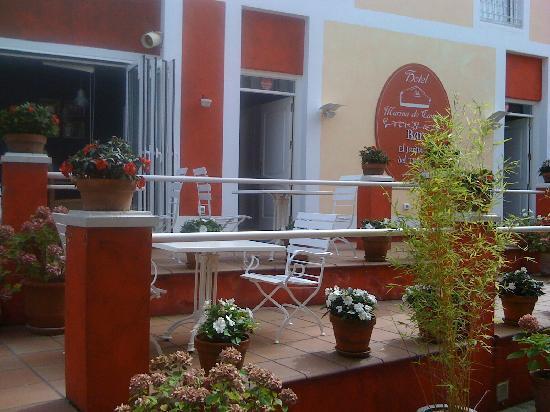 Marina de Campios: La agradable terraza