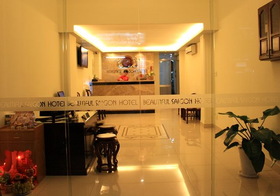 Beautiful Saigon Hotel: Nice and Clean Lobby for Budget Class