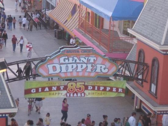 Santa Cruz Beach Boardwalk: Giant Dipper's 85th Birthday