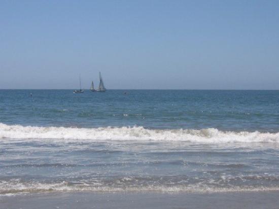 Santa Cruz Main Beach: Such Wonderful weather