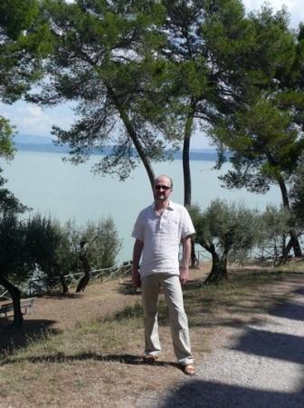 Castiglione del Lago, Italy: Me in Castellione del Lago.