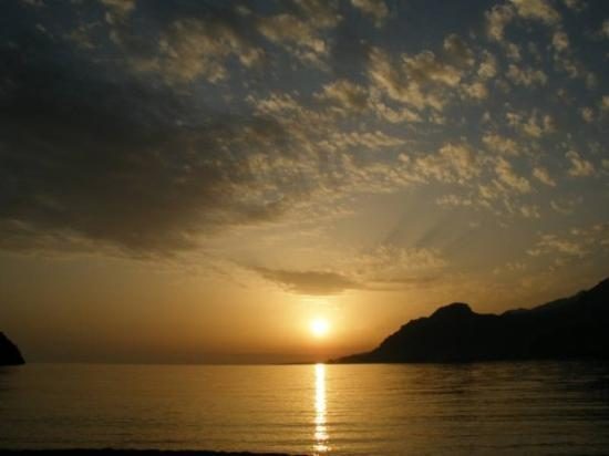 Plakias, Yunanistan: Another sunset