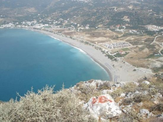 Plakias, Grecia: View from top of Kakamouri