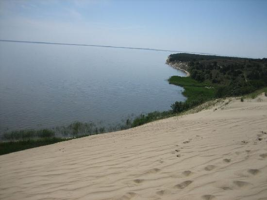 Curonian Spit / Kursiu Nerija National Park: Blick vond er Toten Düne