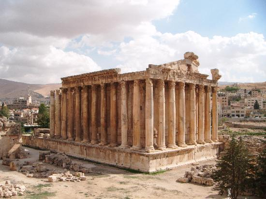 Lebanon: Temple of Bacchus, Baalbek