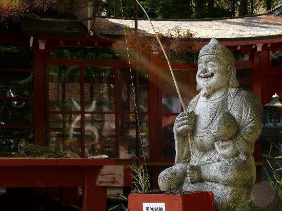 Logette Sanbois : Chuzenenji-ko - Temple