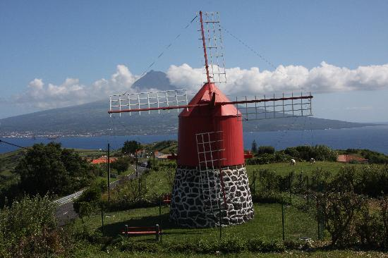 Vila Belgica: Old windmill