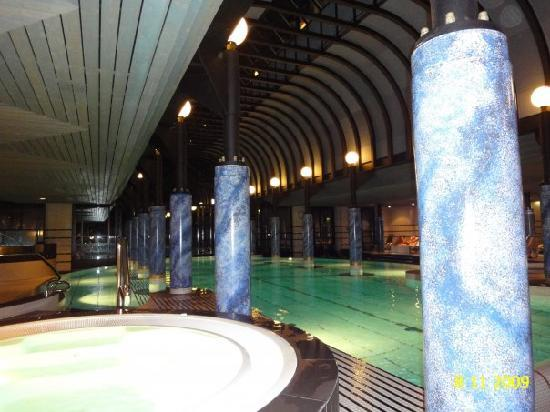Victoria Jungfrau Grand Hotel Spa The Indoor Swimming Pool And 1 Jacuzzi Of