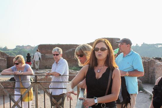Through Eternity Cultural Association: Graceyln, our tour guide