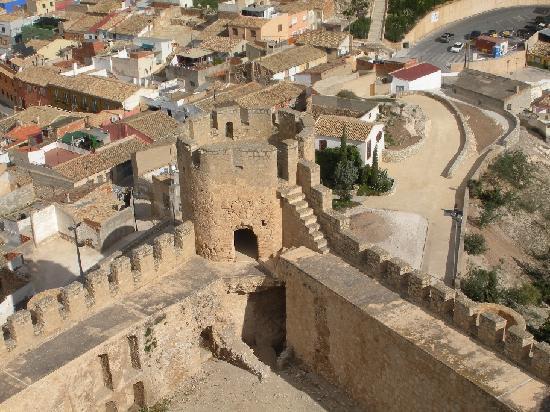 Vistas de villena desde el castillo photo de villena - La casa de los aromas villena ...
