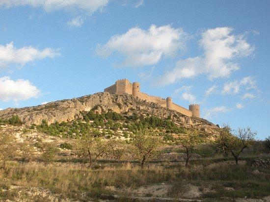 Castalla, إسبانيا: Vistas del castillo de Castalla