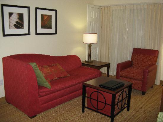 Residence Inn Houston Northwest/Willowbrook: Sitting Room