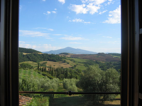 Italia: View from Terre di Nano Room