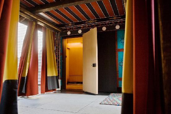 Litchfield, CT: Yoga Studio Entrance