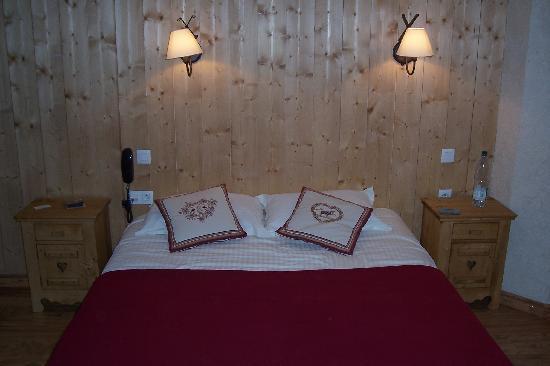 Hotel Liberty Mont Blanc: chambre