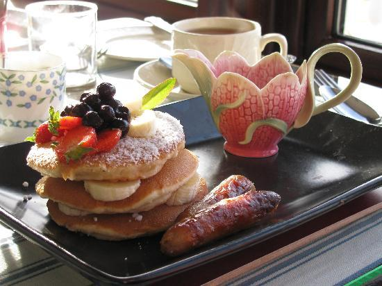Beautiful breakfasts at the Pax Guest House
