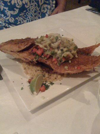 Spanish River Grill: The Whole Snapper