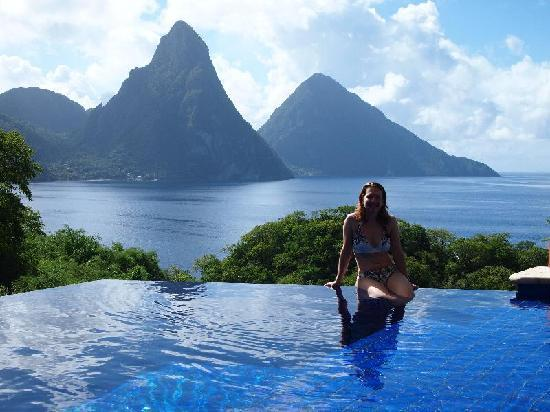 Jade Mountain Resort: Waking up the first morning - It was just surreal