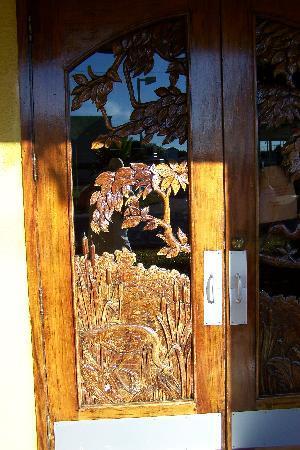 Sebring, FL: hand carved front Entrance