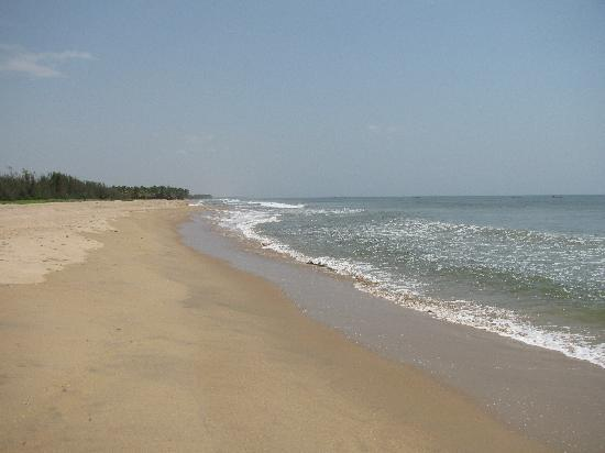 Club Mahindra Puducherry: The coastline