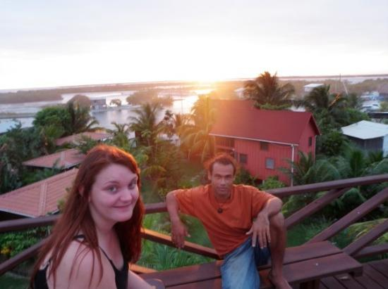 Plasencia, Belize : Me & Franco in Placencia