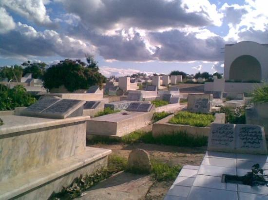 Kelibia, cimitero