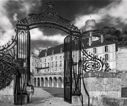 La Roche-Guyon, Francie: L'entrée vers les écuries