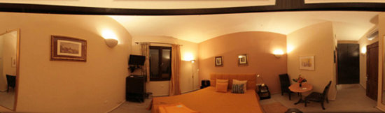Klimt Guest House: Rooms from panoramic view