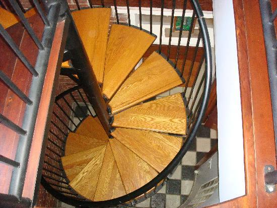 Inn at Locke House: Our stair case...