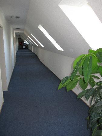 Am Segelhafen Hotel: corridoio