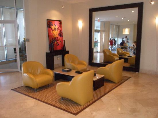 The Mimosa Hotel: Detalhe da recepção