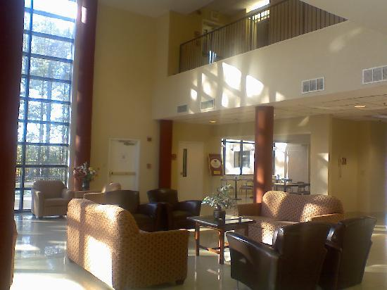 Sky Suites: looking from front desk