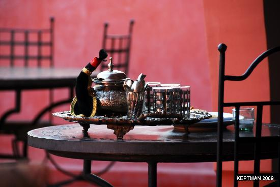 Riad Elizabeth: Mint Tea on the Terrace