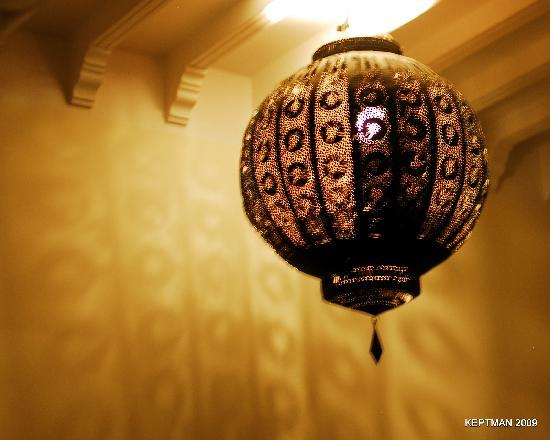 Riad Elizabeth: Cool Light Fixture