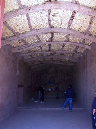 """Tinogasta, Argentina: Iglesia """"Nuestra Señora de Andacollo"""" de más de 500 años de antiguedad (Interior)"""