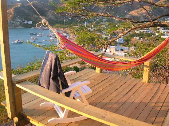 Hotel Cactus Taganga: terrace
