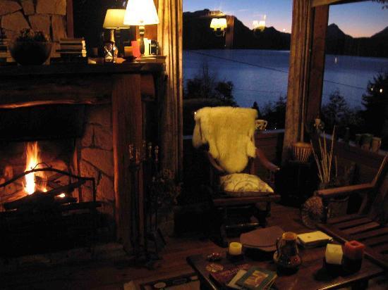 Hosteria Belvedere: Lounge