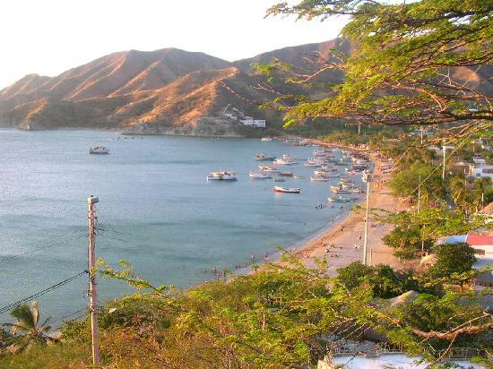Hotel Cactus Taganga: beach