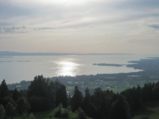 Hotel Schönblick: Vista sobre el lago