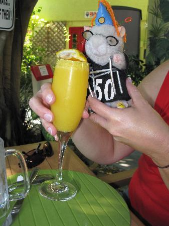 North Redington Beach, FL: Don't forget the Mimosa!!!