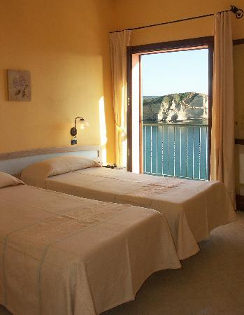 Santa Caterina di Pittinuri, อิตาลี: tutte le camere vista mare