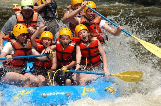 Charlemont, Массачусетс: Whitewater Rafting in Massachusetts