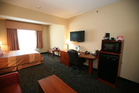Parke Regency Hotel and Conference Center: In Room Ammenities