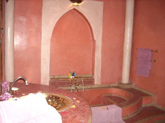 Ksar Catalina: salle de bain