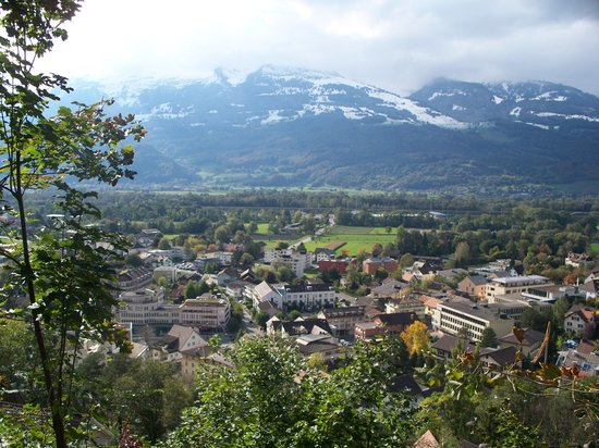 Vaduz from above