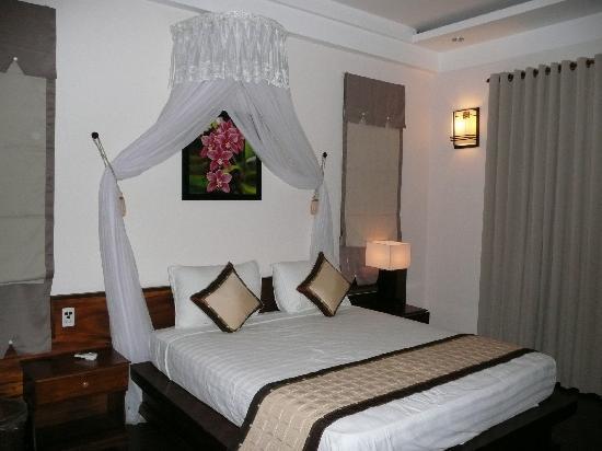 The Hoi An Orchid Garden Villas: Bungalow Bedroom
