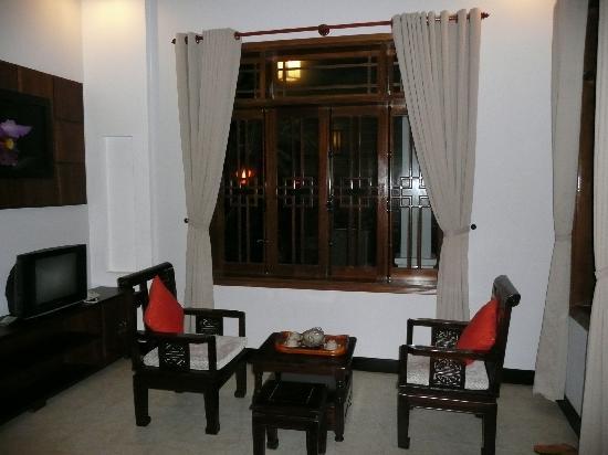 The Hoi An Orchid Garden Villas: Bungalow Living Room