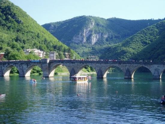 Visegrad, Bosnia and Herzegovina: Višegrad, na Drini ćuprija