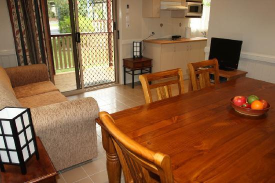 BIG4 Atherton Woodlands Tourist Park: All our Cabins are beautifully furnished
