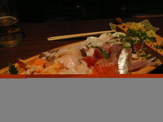 Gokai Izakaya Funamoriya Susukino: この写真は三分の二を食べた後です。